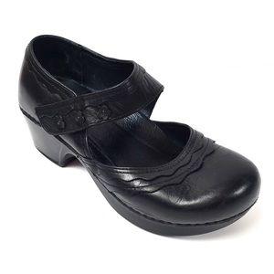 Dansko Mary Jane Flower Embellished Shoes